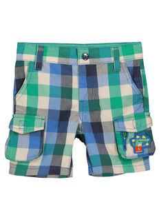 Bermudas con bolsillos y estampado de fantasía para niño FOCABER4 / 19S902D4BER205
