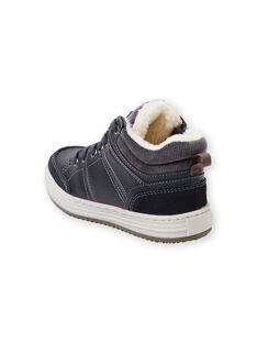 Zapatillas azul marino para niño GGBASBOY / 19WK36I1D3F070