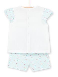 Pijama azul para bebé niña LEFIPYJNUI / 21SH13C1PYJC218