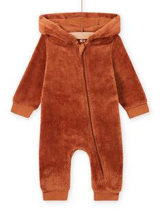 Mono con capucha con estampado de zorro para bebé niño MUSAUCOM / 21WG10P1CBLI803