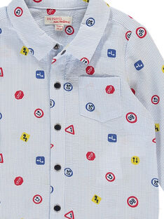 Camisa para bebé niño FUCOCHEM / 19SG1081CHM099