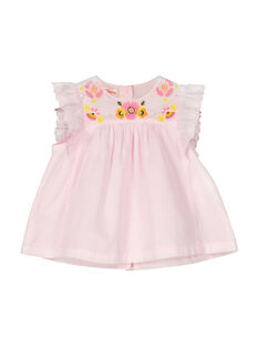 Blusa sin mangas para bebé niña FIPOCHEM / 19SG09C1CHE307