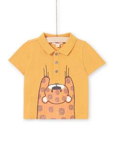 Polo mostaza para bebé niño LUTERPOL / 21SG10V1POLB106