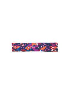 Cinta para el pelo con estampado floral de colores para bebé niña MYIPABAN / 21WI09H1BAND319