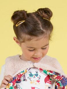 Pack de 8 horquillas lisas a juego para niña MYAJOCLIC3 / 21WI01S3BRTD325
