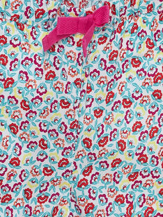 Pantalón estampado para niña bebé JIMARPAN / 20SG09P1PAN000