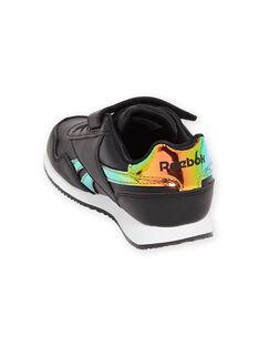 Zapatillas Reebok negras con detalles holográficos para niña MAG57518 / 21XK3541D36090