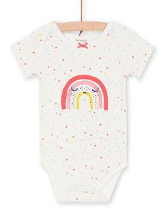 Body de color crudo para bebé niña LEFIBODARC / 21SH13G5BDL001