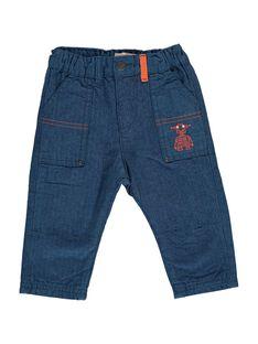 Baby boys' trousers DUBLEPAN1 / 18WG1091PAN099
