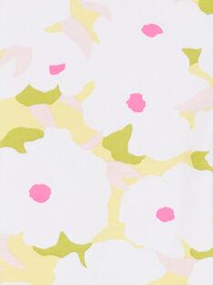 Leggings con estampado floral para niña LYAJAULEG2 / 21SI01O2CAL000