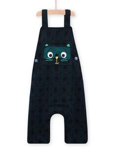 Peto de color azul oscuro para bebé niño MUTUSAL2 / 21WG10K1SALC234