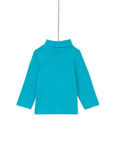 Jersey fino de color turquesa KUJOSOUP5 / 20WG1041SPL202