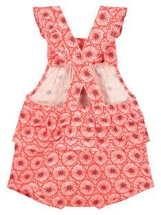 Pelele estampado para bebé niña FITOBAR / 19SG09L1BAR330