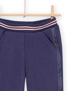 Pantalón azul forrado para niña MAPLAPANT2 / 21W901O2PANC202