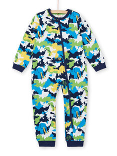 Sobrepijama de muletón cepillado con estampado de camuflaje para niño LEGOCOMBI / 21SH1211D4FJ920
