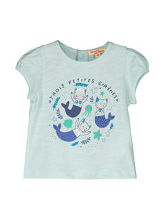Camiseta de manga corta para bebé niña FINETI / 19SG09B1TMCC216