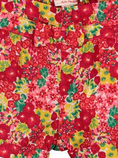 Short floral para bebé niña FIYESHO1 / 19SG09M1SHO000