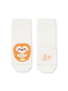 Calcetines de color crudo para bebé niña LYIPOECHO / 21SI09Y1SOQ001