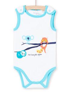 Body sin mangas con estampado de animales para bebé niño LEGABODAMI / 21SH14G2BDL000
