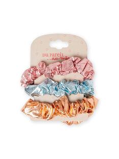 Pack de 3 gomas para el pelo a juego para niña MYAJOELA4 / 21WI01S2ELAK008