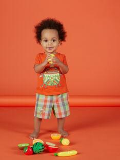 Bermudas de cuadros para bebé niño FUYEBER3 / 19SG10M3BER099