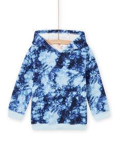 Sudadera con capucha tie-dye para niño MOPLASWE / 21W902O1SWEC208