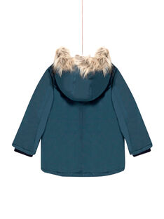 Parka lisa con capucha para niño MOGROPAR2 / 21W90251PAR716