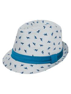 Sombrero con estampado y cinta alrededor para niño JYOJACHAP1 / 20SI02B1CHAJ917