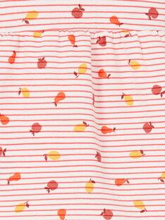 Conjunto confort de blusa y leggings, para bebé niña LINAUENS2 / 21SG09L1ENS318