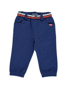 Baby boys' fleece trousers CUDEPAN2 / 18SG10F2PAN703
