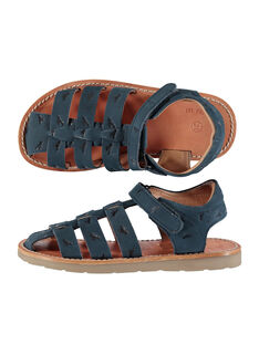 Sandalias de piel para niño FGSANDINO1 / 19SK36C1D0E070