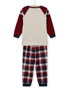 Pijama con estampado de coche y lentejuelas reversibles para niño MEGOPYJSPOR / 21WH1232PYJ080