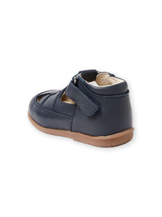 Salomés de color azul marino para bebé niño LBGSALSANDM / 21KK3834D13070