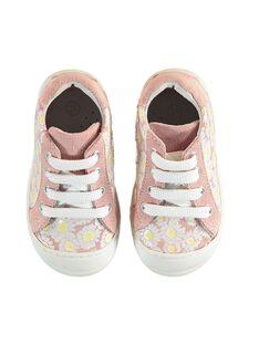 Zapatillas de color rosa pastel para bebé niña JBFBASFLOW / 20SK37Y1D3F301
