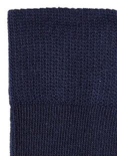 Leotardos de color azul marino para bebé niña LYIHACOL / 21SI09X1COL070