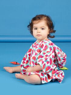 Capa de baño con estampado de sandía para bebé niña LYICAP / 21SI09D1CDB000
