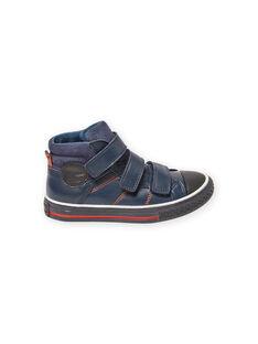Zapatillas azul marino para niño MOBASTRIVNAVY / 21XK3653D3F070