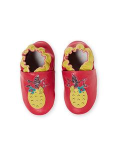 Zapatillas de color fucsia para bebé niña JNFNANA / 20SK37Y1D3S304