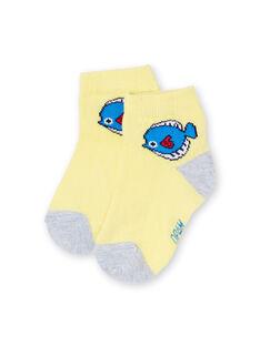 Calcetines para bebé niño LYUJOSCHO6 / 21SI1041SOQB115