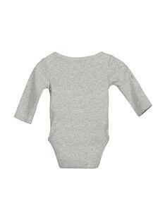 Body de manga larga para bebé unisex FOU1BOD1 / 19SF7711BOD943