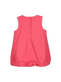 Vestido abombado de algodón para bebé niña FIBAROB2 / 19SG0962ROB308