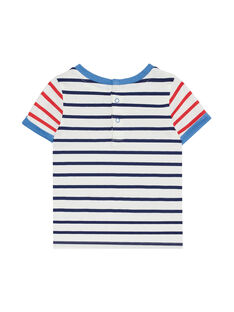 Camiseta de manga corta de color crudo JUCEATI2 / 20SG10N1TMC001