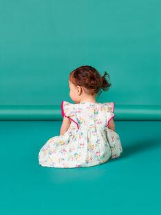 Vestido azul para bebé niña LIVERROB1 / 21SG09Q2ROBG622