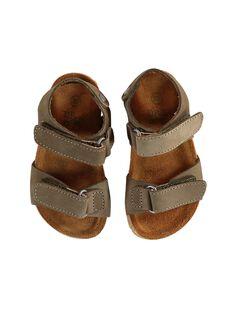 Sandalias de color caqui JBGNUKAKI / 20SK38Z6D0E604