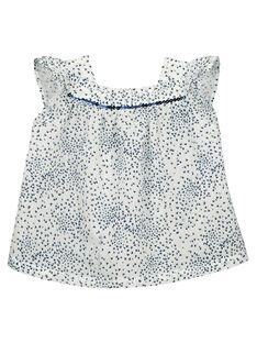 Blusa con estampado de fantasía para bebé niña FINECHEM / 19SG09B1CHE000