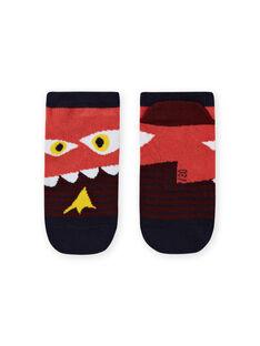 Calcetines de rayas y estampado de dinosaurio para niño MYOPASOQ / 21WI02H1SOQ719