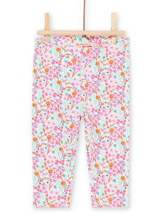 Leggings multicolor para bebé niña LYIVILEG / 21SI09U1CAL000