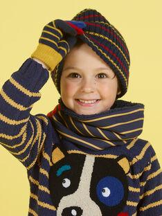 Cuello reversible de rayas para niño MYOGROSNO2 / 21WI0251SNO705