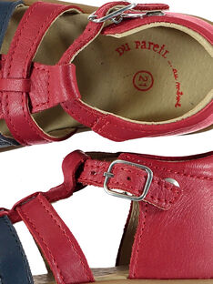 Sandalias de color rojo FBGSANDBI4 / 19SK38K1D0E050