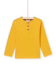 Camiseta amarilla para niño MOJOTUN2 / 21W90213TML113